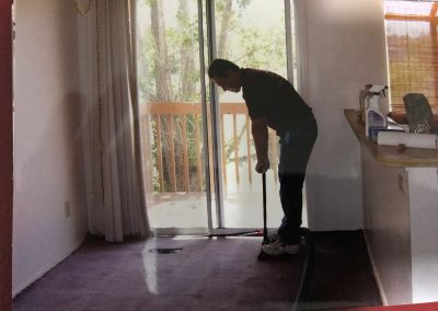 Burst Pipe Water removal from carpet